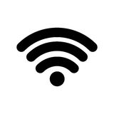 Wifi internet zone Royalty Free Stock Photography