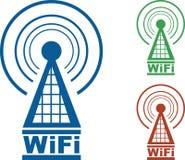 WiFi Kontrollturm stock abbildung