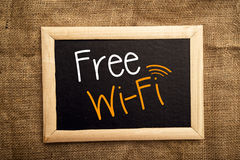 WiFi libero Immagini Stock Libere da Diritti