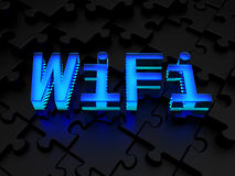 WiFi (local area wireless computer network) Royalty Free Stock Images