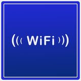 Wifi logo Stock Image