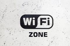 Wifi område arkivbilder