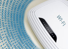 WiFi-Router Stock Fotografie