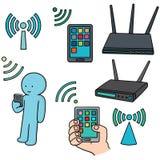 Wifi router Fotografering för Bildbyråer