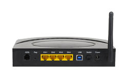Wifi router Royaltyfri Bild