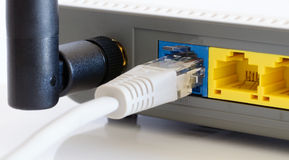 Wifi router stock image