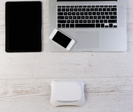 Wifi router connection Royalty Free Stock Photos
