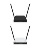 Wifi router illustration Stock Photography