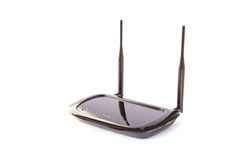 WIFI router isolate on white background Stock Images