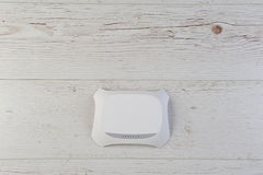 Wifi routera modem zdjęcie stock