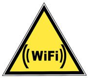 Wifi sign Stock Image