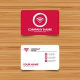 Wifi sign. Wi-fi symbol. Wireless Network. Stock Photography