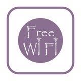 Wifi sign, Wi-fi symbol, Wireless Network icon, Wifi zone icon. Icon Stock Photos