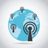 Wifi signal Royalty Free Stock Photo
