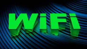 WiFi-Signalkonzept Lizenzfreies Stockfoto