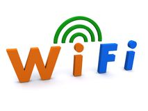 WiFi symbol  Stock Images