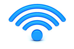 Free WiFi Symbol Royalty Free Stock Photos - 44995808