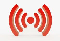Wifi symbol royaltyfri foto