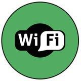 Wifi symbol Fotografering för Bildbyråer