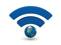 WiFi symbol Royalty Free Stock Photography