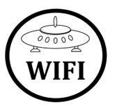 Wifi symbol för affär eller kommersiellt bruk stock illustrationer