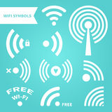 WiFi Symbols Royalty Free Stock Images