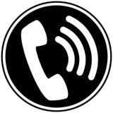 Wifi telefonu ikona Zdjęcie Royalty Free