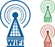 WiFi Tower Royalty Free Stock Photography