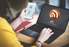 Wifi Wireless Technology Networking Connect Concept Royalty Free Stock Images