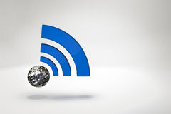 Wifi world Royalty Free Stock Photography