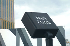 Wifi Zone Royalty Free Stock Photo