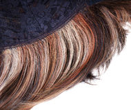 Wig on the inner side Royalty Free Stock Images