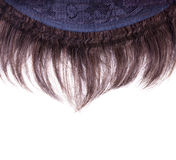 Wig on the inner side Stock Images