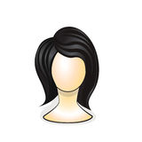 Wig on mannequin head Royalty Free Stock Photography