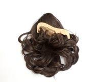 Wig Stock Photo