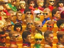 Wigged Dummies Stock Photo