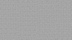 Wiggling TV noise without any effects (statics / atmospherics) stock footage