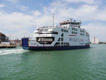 Wight Link Car Ferry Stock Photos