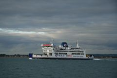The Wightlink Ferry Stock Photography