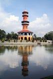 Wighun Thasana Kontrollturm, Knall-Schmerzpalast Stockbild