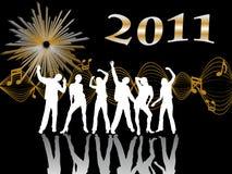 wigilia 2011 nowy rok Obrazy Royalty Free