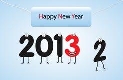 Wigilia backgorund szczęśliwi Nowy Rok ilustracja wektor