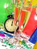 wigilia nowego roku Zdjęcia Royalty Free