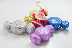 wigilii prezentów wakacje wiele ornamenty Zdjęcie Stock