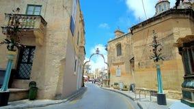Wignacourt-Museum in der Collegestraße, Rabat, Malta stock video
