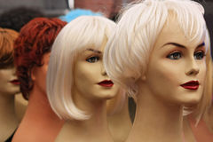 Wigs Royalty Free Stock Photography