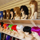 Wigs Royalty Free Stock Images