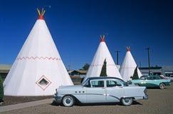 wigwam мотеля Аризоны стоковая фотография rf