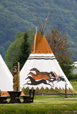 Wigwam Foto de Stock Royalty Free