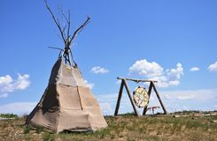 Wigwam Royalty Free Stock Photography